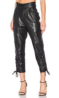 Кожаные брюки kitana - Marissa Webb