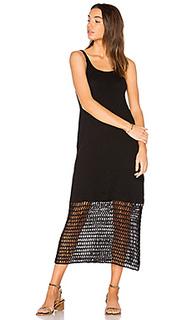 Crochet slip dress - LACAUSA