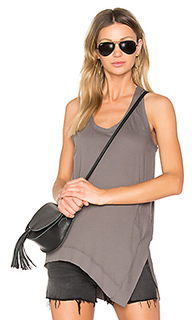 Light weight jersey side slit tank - Bobi
