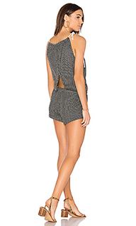 Knit cross back romper - Bobi