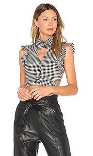 Denise gingham blouse - Marissa Webb