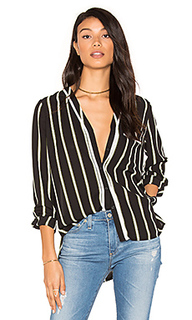 High-low pocket blouse - 1. STATE