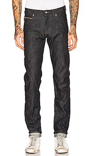 Super skinny guy chinese new year fire rooster 12.5oz - Naked & Famous Denim