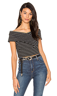 Off shoulder wrap top - 1. STATE