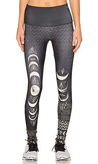 High rise graphic legging - onzie