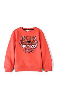 Свитшот с тигровым рисунком - KENZO Kids
