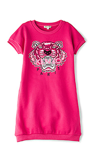 Tiger sweatshirt dress - KENZO Kids