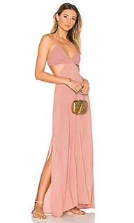 Макси платье с разрезом blaze - Indah