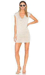 Мини платье с драпировкой спереди waylon - Riller & Fount