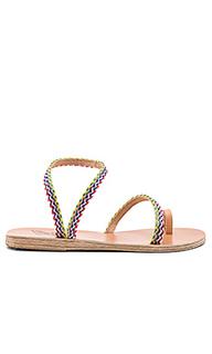 Alpi eleftheria raffia sandal - Ancient Greek Sandals