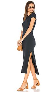 Макси платье с коротким рукавом - SUNDRY