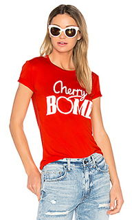 Linfield cherry t-shirt - Ganni