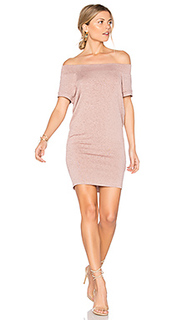 Dwight off shoulder tunic dress - Riller & Fount