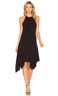 Миди-платье на шлейках - Halston Heritage