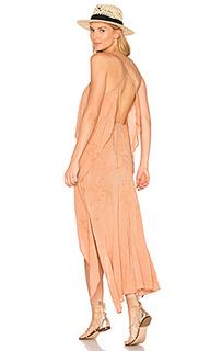 Макси-платье с воланама casbah - Blue Life