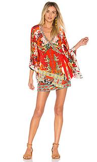 Платье с перекрестными шлейками kimono - Camilla