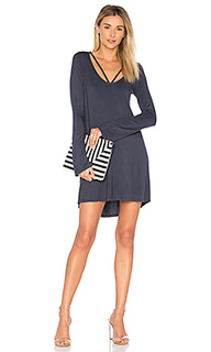 Bailor cut out neck dress - Michael Lauren
