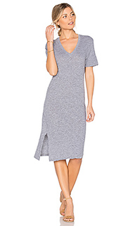 Oversized knot tee dress - MONROW