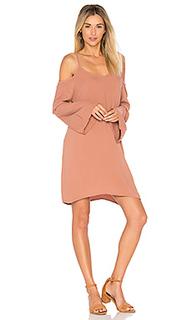 Платье с рукавами-колоколами gillis - Michael Lauren