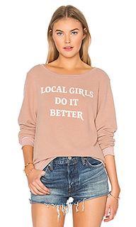 Джемпер gigi local girls do it better - MATE the Label