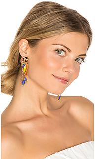 Paulina parrot earring - Elizabeth Cole