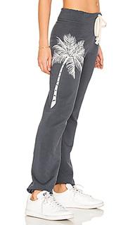 Спортивные брюки с вышивкой - Sandrine Rose