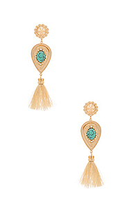 Nightfall lustre large drop earrings - Samantha Wills
