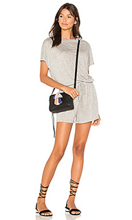 Square textured tee playsuit - MINKPINK