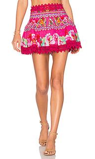 Short frill hem skirt - Camilla