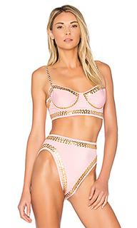 X revolve stud underwire bikini top - Norma Kamali