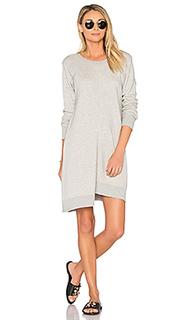 Shrunken gusset sweatshirt dress - Wilt