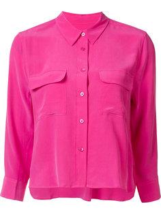 укороченная рубашка с нагрудными карманами Equipment