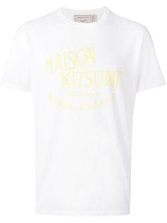 классическая футболка  Maison Kitsuné