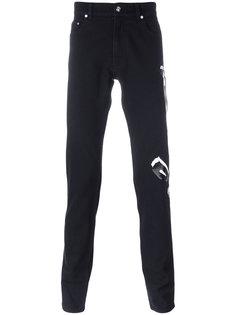 джинсы кроя слим с принтом логотипа Kenzo