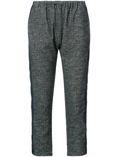 укороченные брюки с эластичным поясом Engineered Garments