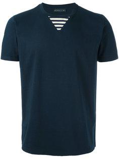 футболка с отделкой в полоску Etro