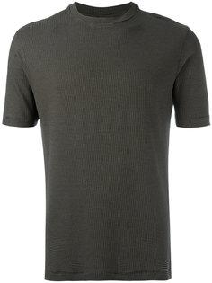 фактурная футболка  Armani Collezioni