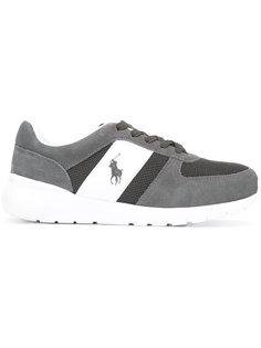кроссовки с вышитым логотипом Polo Ralph Lauren