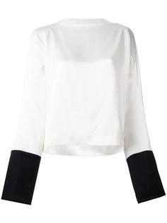 блузка с вырезом-лодочкой Haider Ackermann
