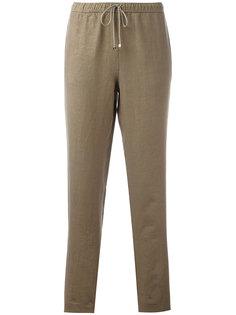 брюки с эластичным поясом Majestic Filatures