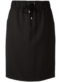 юбка с эластичным поясом Boutique Moschino