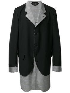 многослойный пиджак  Comme Des Garçons Homme Plus