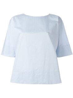 блузка со складкой на спине Alberto Biani