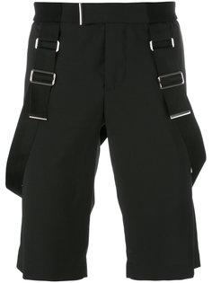 шорты с подтяжками Les Hommes