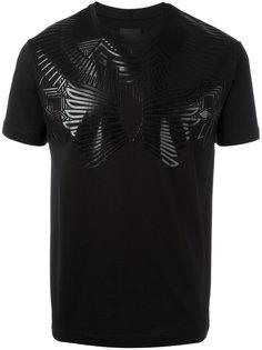 футболка с принтом Les Hommes