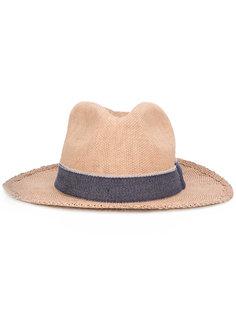 шляпа с декоративной тесьмой Eleventy