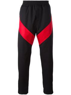 брюки с геометрическими панелями Givenchy