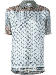 рубашка с узором свободного кроя Pierre-Louis Mascia