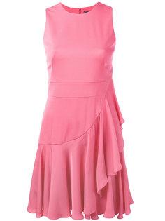 платье мини с оборками Alexander McQueen