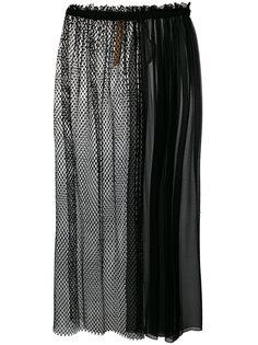 сетчатая юбка из шифона Nº21